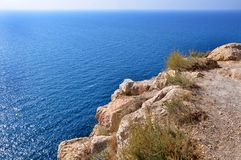 Crimea rocks in Balaklava Royalty Free Stock Photos