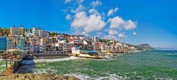 Crimea, Santa Barbara. Storm at sea Royalty Free Stock Photography
