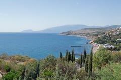 Crimea seashore Obrazy Royalty Free