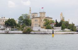 View of the waterfront city of Sevastopol Stock Photography