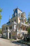 crimea Slott av kejsaren Alexander III i Massandra Arkivfoton