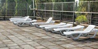 Crimea. A solarium is in a sanatorium Stock Images