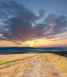 Crimea steppe Royalty Free Stock Images