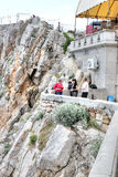 Crimea. Swallow's nest Stock Photography