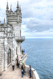 Crimea. Swallow's nest Stock Photo