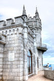 Crimea. Swallow's nest Royalty Free Stock Photo