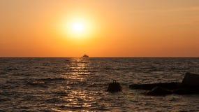 Crimea Ukraina, Czarny morze fotografia stock