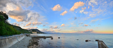 Crimea. View of the beach Royalty Free Stock Photography
