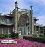 Crimea - Vorontsov Palace Stock Photo