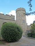 Crimea. Vorontsov Palace tower in Alupka Stock Image