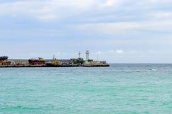 Crimea Yalta sea travel Royalty Free Stock Photos