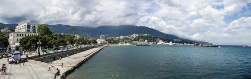 Crimea Yalta sea travel Royalty Free Stock Photo