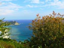crimea YUBK Vidy della costa della Crimea Fotografia Stock Libera da Diritti