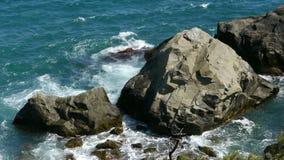 crimean Θάλασσα Πέτρες στοκ εικόνα με δικαίωμα ελεύθερης χρήσης