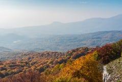 Crimean autumnal landscape Royalty Free Stock Image
