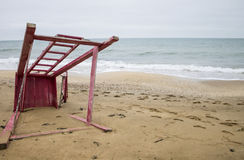 Crimean beach. Black Sea. 2014 Royalty Free Stock Photos