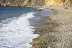 The Crimean beaches. Stock Image