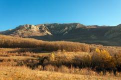 Crimean berg royaltyfria bilder