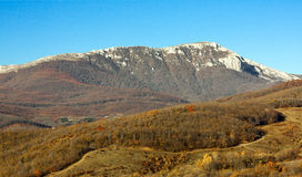 Crimean berg 1 royaltyfri bild