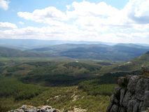 Crimean berg Royaltyfri Foto