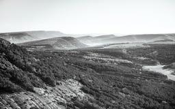 Crimean berg, Ryssland Arkivfoton