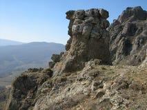 2008 crimean berg sörjer sommar Royaltyfri Fotografi
