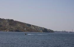 2008 crimean berg sörjer sommar Black Sea Höst 2015 Royaltyfri Bild