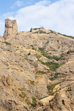 2008 crimean berg sörjer sommar Halvön av Krim Royaltyfria Bilder