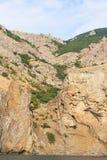 2008 crimean berg sörjer sommar Halvön av Krim Arkivbild