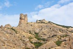 2008 crimean berg sörjer sommar Halvön av Krim Arkivfoton