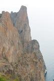 2008 crimean berg sörjer sommar Halvön av Krim Royaltyfri Fotografi