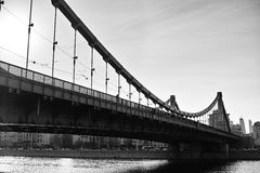 The Crimean bridge Royalty Free Stock Photos