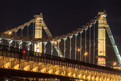 Crimean bridge in Moscow Royalty Free Stock Photos