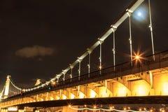 Crimean bridge in Moscow Stock Photos