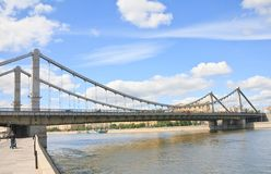 Crimean Bridge, Moscow Royalty Free Stock Images