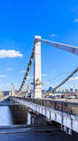 The Crimean bridge. Moscow Royalty Free Stock Images