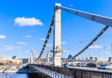 The Crimean bridge. Moscow Stock Photos