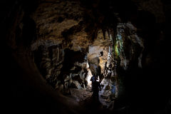 Crimean cave Royalty Free Stock Image