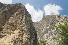 Crimean cliffs Royalty Free Stock Images