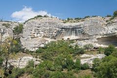Crimean cliffs Stock Image