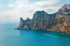 Crimean coast Royalty Free Stock Photos