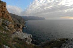 The Crimean coast. Crimean coast near Balaclava, Sevastopol, Ukraine Stock Images