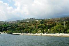 The Crimean coast Stock Images
