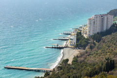 Crimean coastline Royalty Free Stock Images