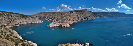 Crimean landscape - Balaklava Stock Images