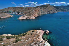 Crimean landscape - Balaklava Royalty Free Stock Photos