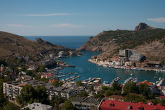 Crimean landscape - Balaklava Stock Photo