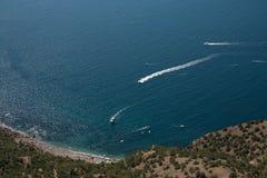 Crimean landscape - Balaklava Royalty Free Stock Image