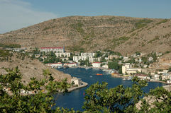 Crimean landscape - Balaklava Stock Photography