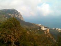 Crimean landscape. Crimean nature view landscape Stock Image
